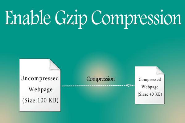 آموزش فعال سازی gzip compression در سی پنل