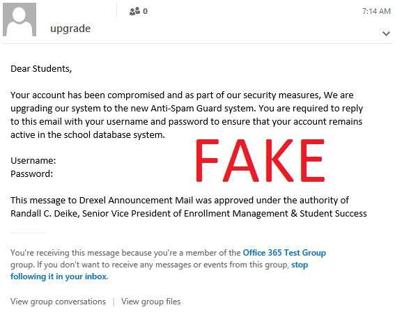 تشخیص ایمیل جعلی از ایمیل واقعی