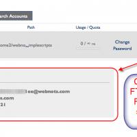 آموزش تنظیمات FTP Accounts