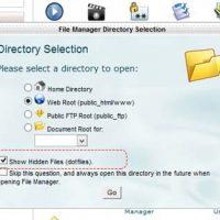 نمایش فایل های مخفی و htaccess در قالب قدیمی سی پنل X3