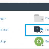 ایجاد اکانت FTP در Cpanel در قالب paper_lantern (جدید)